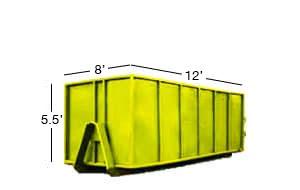 12 yard roll-off bin rental calgary