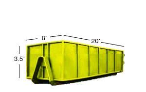 20 yard roll-off bin rental calgary